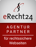 erecht24 Siegel Agenturpartner